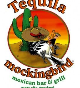 Drunken Bird Tequila Mockingbird Bar & Grill T-Shirt