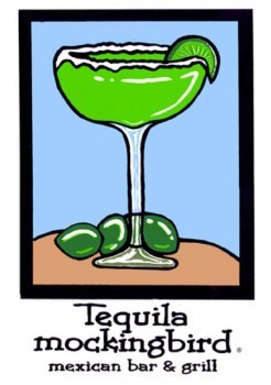 Margarita Glass Mexican Restaurant Ocean City MD t-shirt